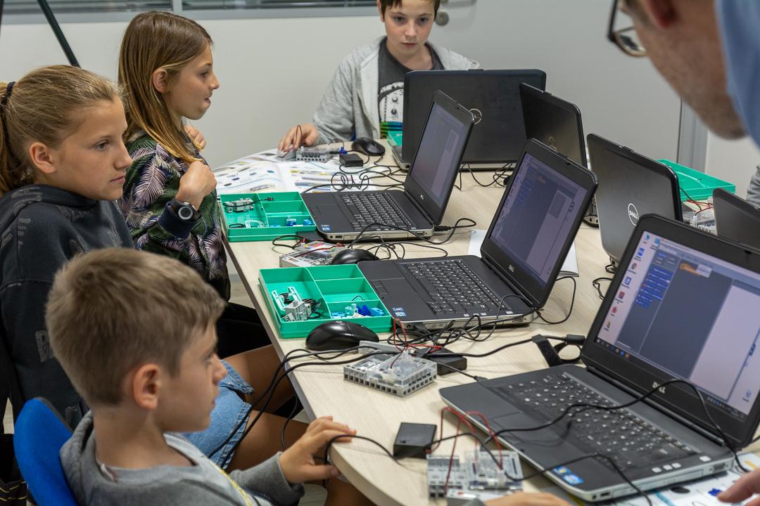 Atelier enfant de programmation de robot